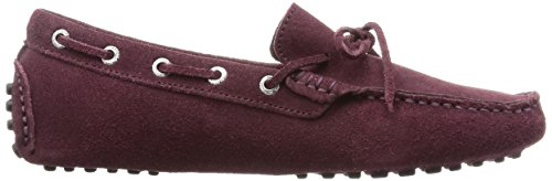 Superga 487 SUEM, Mocassins homme Bordeaux