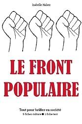 Le Front populaire - Tout pour briller en société