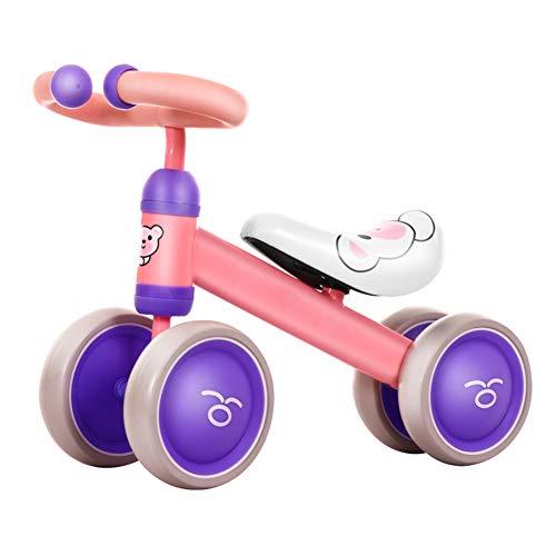 ZZLYY Kinderfahrrad, Ultraleichtes Fahrrad, Geeignet Für 1-3 Jahre Altes Baby Und Kinder,Rosa