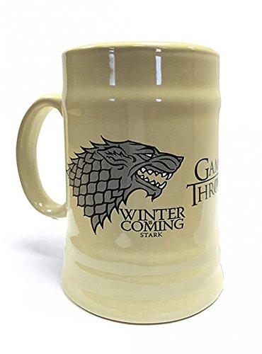 Seen on screen Stark House Beer Jug, Winter is Coming. Game of Thrones