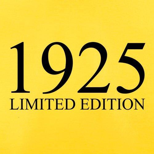 1925 Limierte Auflage / Limited Edition - 92. Geburtstag - Herren T-Shirt - 13 Farben Gelb