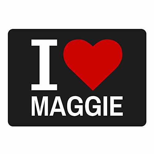 tappetino per mouse Classic I Love Maggie (Maggie Nero)