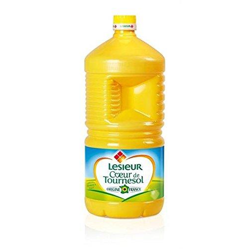 olio di girasole Lesieur 3litres bottiglia - ( Prezzo unitario ) - Lesieur huile de tournesol bouteille 3litres
