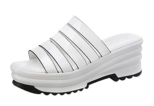 fq-real-balck-friday-womens-summer-trendy-stripes-platform-glaized-pu-slippers-35-ukwhite