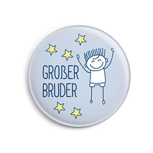 dabelino Button Großer Bruder (Ø32mm) | Geschenk zur Geburt