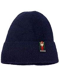 AiNaMei Cappello da Donna in Maglia Autunnale e Invernale con Cappello in  Lana Testa di Velluto 124ed6501b60