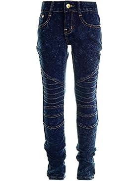 Mädchen Kinder Girls Jeans Hose Röhre Super Skinny Fit Stretch Jeggings 20805