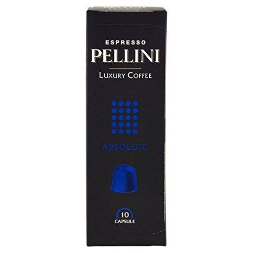 Pellini Luxus Absolute Nespresso Kompatible Kaffeekapseln 10 Pro Packung (Packung mit 4)