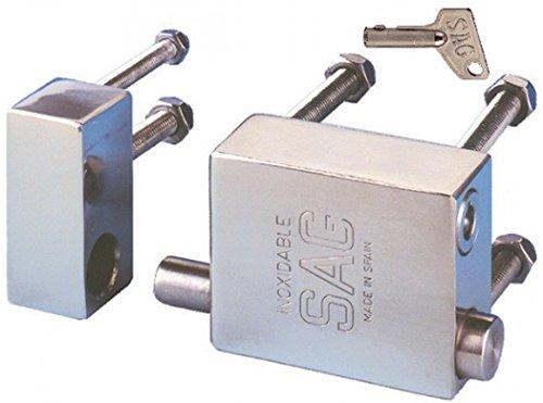 Plateado Master Lock 640EURD Candado Marino 40 mm