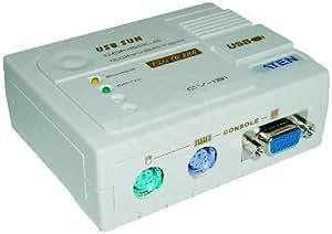 Cablematic - Adaptateur VGA/clavier SUN/souris pour PS2 (USB 13 W3 > 2xMin