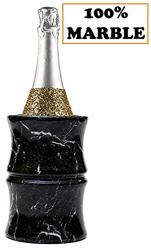 RADICALn Marmor Weinkühler - 4.5x4.5x6.5 Zoll 'Black Outdoor Countertop Weinkühler Kühler...