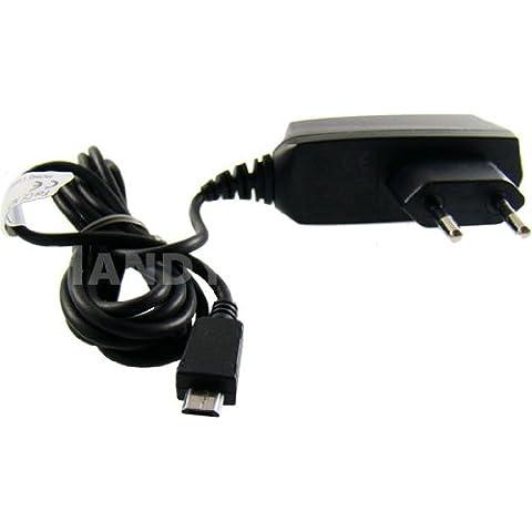 caseroxx Handy Ladekabel Micro USB Kabel für Doro PhoneEasy 508, hochwertiges Ladegerät mit Netzteil zum Aufladen (flexibles, stabiles Kabel in