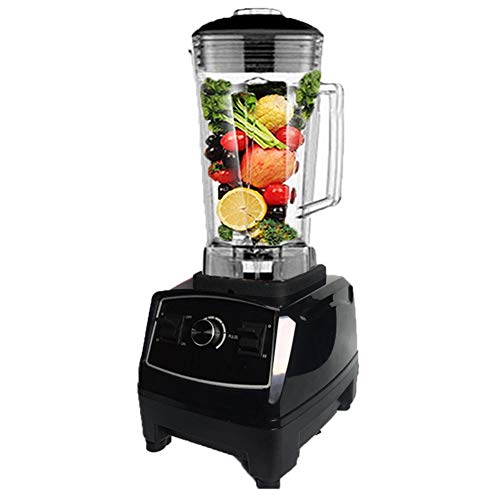 GYFHMY Fruchtseitiger Heavy Duty High-Speed Blender Professional Food Processor System Personal und Countertop Blade Juicer Ice Smoothie Machine 2200W BPA Free