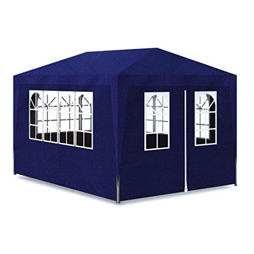 Pavillon für Feste, 3 x 4 m, Faltpavillon, Pavillon, Pavillon, Pavillon, wasserdicht