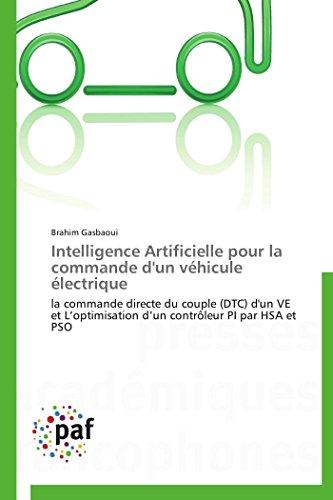 Intelligence artificielle pour la commande d'un véhicule électrique par Brahim Gasbaoui