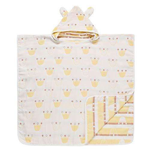 Tier Kapuze Baby-Handtuch Waschlappen Ultra Soft und Extra Large, Verbandsmull Bademantel for Groß Säuglings- / neugeborenes Dusche Geschenk for Jungen oder Mädchen (0-12Year) (Size : 70 * 70cm)