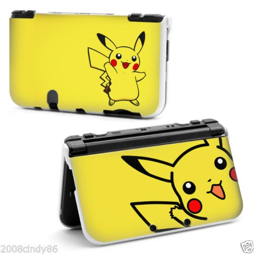 cartoon-pikachu-pokemon-growlithe-hard-protective-case-cover-for-nintendo-new-style-3ds-xl
