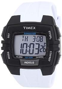 Timex Herren-Armbanduhr XL Full Pusher CAT Digital Resin T49901SU