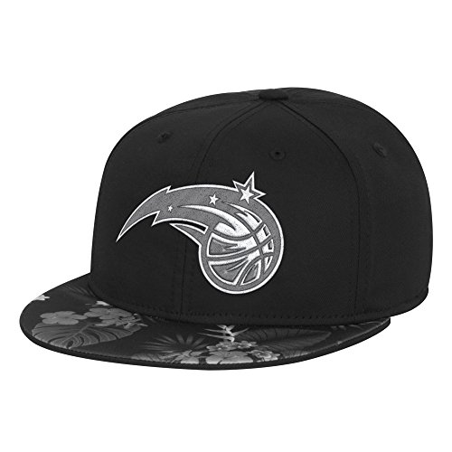 NBA Orlando Magic Men's Fanwear Hawaiian FVF Cap, Small/Medium, Black