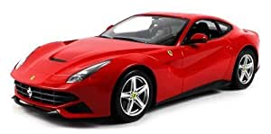 Licensed Ferrari F12 Berlinetta Electric RC Car 1:14 Scale Ready To Run RTR by Velocity Toys (English Manual)