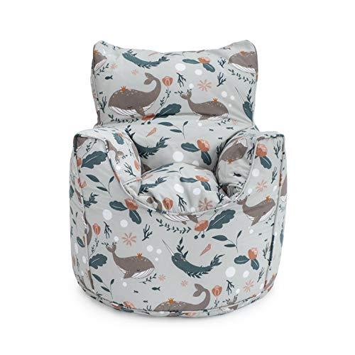 Ready Steady Bed Kindersessel für Kleinkinder, bequeme Kindermöbel, weicher Kindersitz, Spielzimmer, Sofa, ergonomisch geformter Sitzsack