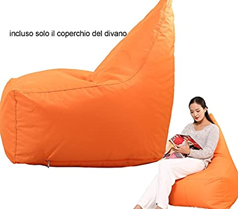 quwei Triangle Rückseite Lazy Sofa Sitzsack Cozy Singer Sofa Weich Couch