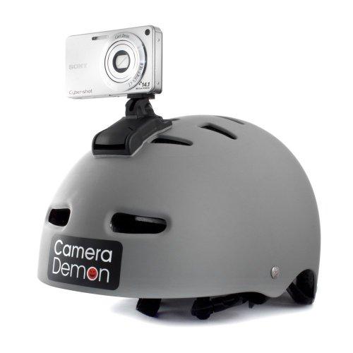 Kamera Demon–Universal Helm Kamera Halterung, passt jede Kompakte Digital-Kamera, 360Grad drehbar & Tilt Funktion, 3D Kamera Bereit
