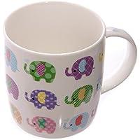 Lauren Billingham Dotty éléphants Conception Mug en porcelaine