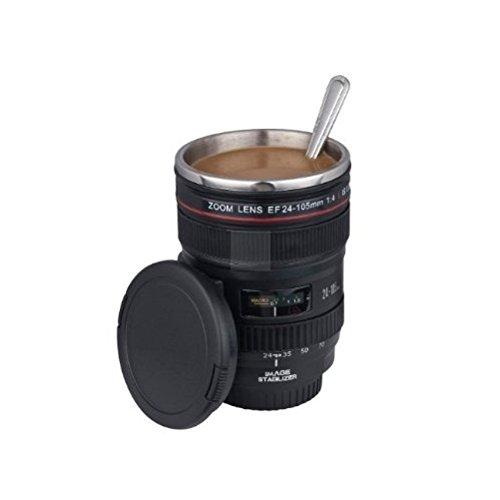 lente de cámara modelo 24-105mm taza inoxidable para café agua té [version:x5.7] by DELIAWINTERFEL