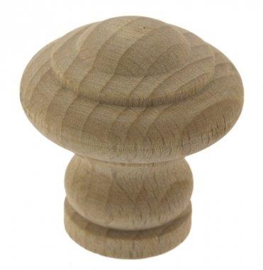 Bouton de porte et tiroir de meuble en bois brut Ø 35 mm, LYONNAIS a14c0cfede2