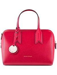 Emporio Armani Twin Handle Mujer Handbag Negro