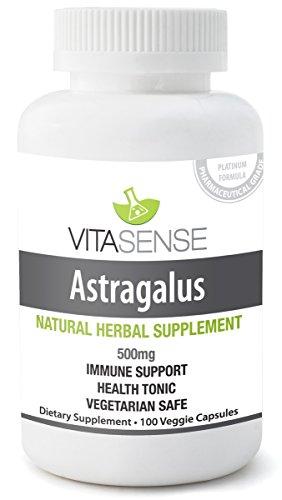 PREMIUM Astragalus 500 mg - Supporto al Sistema Immunitario - 60 capsule morbide by TARGARIAN