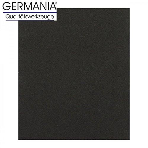 Schleifpapier K320 23x28cm schwarz Lacke Auto Nassschleifpapier Schleifpapierbogen