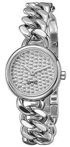 Esprit - ES104052002 - Montre Femme - Quartz Analogique - Cadran Argent - Bracelet Acier Argent