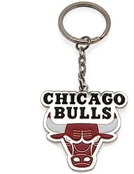 PORTE CLES CHICAGO BULLS OFFICIEL METAL BASKETBALL NBA