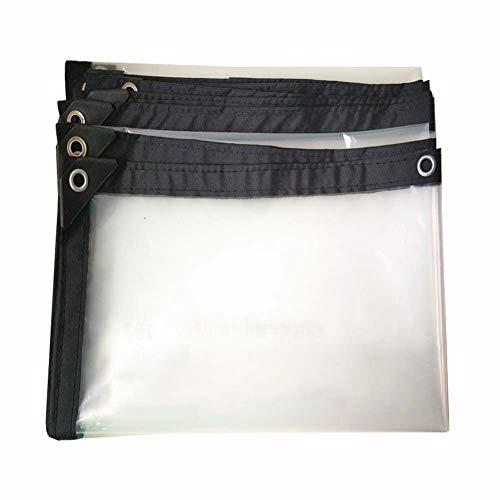 YXX- Toile de bâche transparente épaisse de jardin de bâche de protection de bâche de protection de bâche transparente épaisse (taille : 2mx6m)