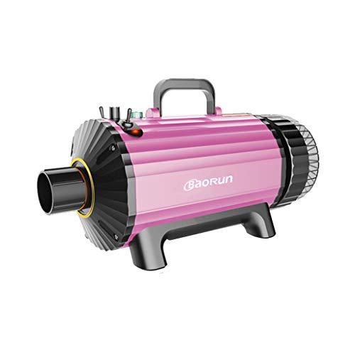 Secador De Mascotas Perro 2300W Multifuncional Mascota Máquina Soplado Agua Aspiradora Ion Negativo Ruido Bajo Certificación 3C (Color : Pink)