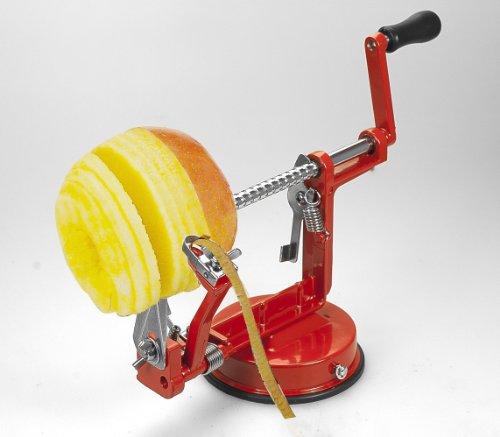 eLifeStore® 3in 1Apfelschäler Apfelentkerner Apfelschneider Cutter Maschine auch für Pear Kartoffel Fruit Edelstahl Material -