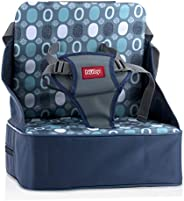 Nuby Easy Go Safety Lightweight High Chair Booster Seat, Great for Travel