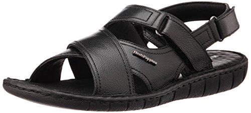 Hush Puppies Men's Sedan Sandal Black Sandals - 7 UK/India (41 EU) (8746959)