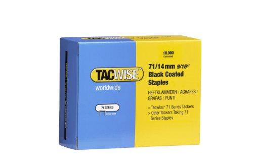 Tacwise 0374 Boîte de 10000 Agrafes en Acier Inoxydable 10 mm Type 71