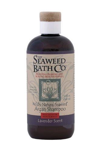 Seaweed Bath Company - Wildly Natural Seaweed Volumizing Argan Shampoo Lavender Scent - 12 oz. by The Seaweed Bath Co.