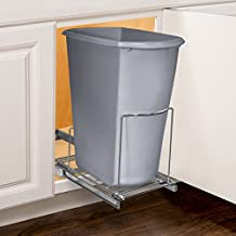 Lynk Professional 230121DS Slide Out Adjustable Bin Holder, one, Chrome