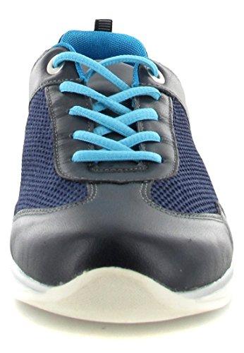 Remonte R400414 Chaussures À Lacets Bleues Pour Femmes
