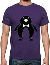 latostadora - Camiseta Pinguino para Hombre