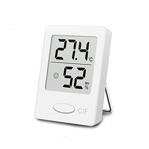 Digitaler Thermometer mit Hygrometer, Thermo-Hygrometer, Hygrometer...
