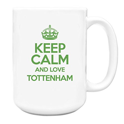 GREEN-Keep-Calm-and-Love-Tottenham-Big-15oz-Mug-TXT-0673