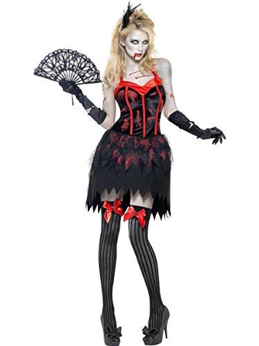 Burlesque Zombie Kostüm, Größe:M (Zombie Burlesque Kostüm)