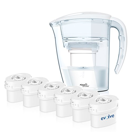 Aqua Optima UN AÑO pack - Jarra de agua de la purificación...