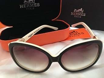 Hermes - Lunette de soleil -  Femme blanc Medium